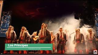 """Presentación con Letra Comparsa """"Los Principes"""" de Jc Aragón Becerra (2011)"""