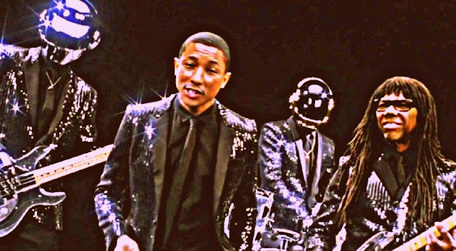 Daft Punk 'Super Thankful' For 'Get Lucky' Success, Pharrell Williams Says