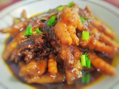 Resep Masak Ceker Ayam Bumbu Kecap