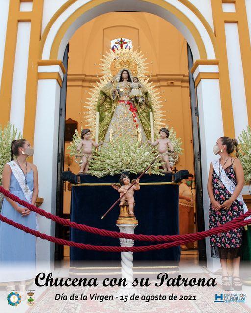 Cartel de la Hermandad Sacramental Estrella 2021, Patrona de Chucena