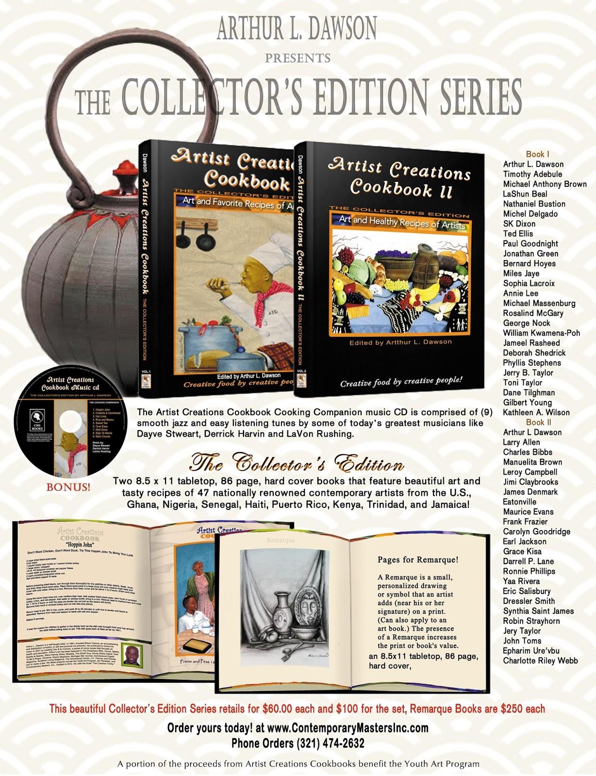 contemporary masters inc artist cookbook