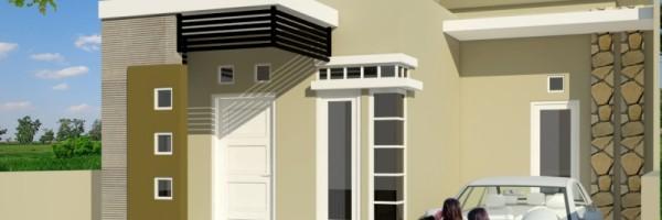 gambar denah rumah luas tanah 400m 4