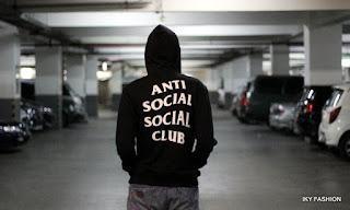 model kaos distro Anti Sosial yang mendunia