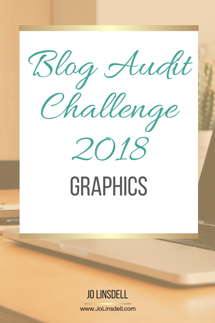 Blog Audit Challenge: Graphics #BookBlogging #Blogging #BlogAuditChallenge2018