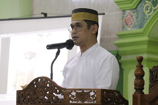 Kapolda Sulsel Hadiri Peringatan Maulid Nabi Muhammad SAW di Masjid Nurul Ihsan Dan Pondok Pesantren An Nahdlah Makassar