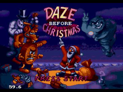 【MD】聖誕老公公大進擊(Daze.Before.Christmas.The),耶誕主題動作遊戲!