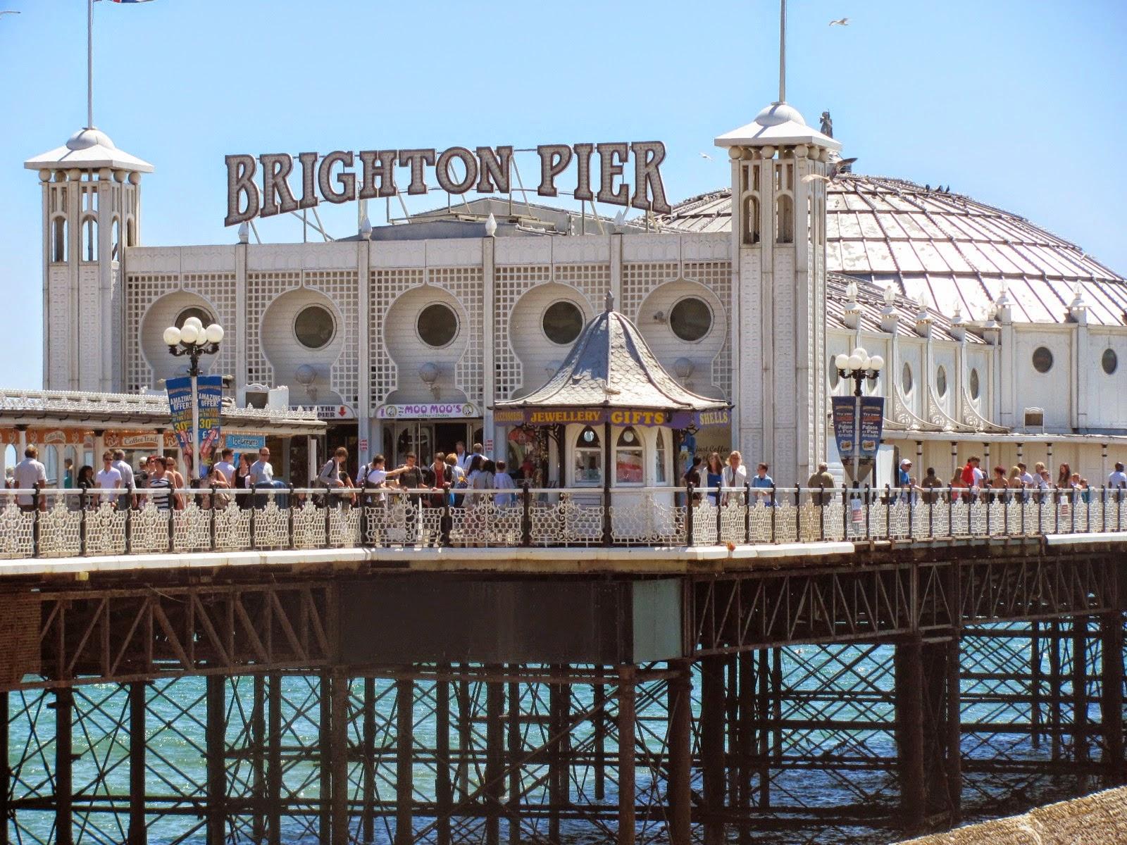 A shot of Brighton Pier