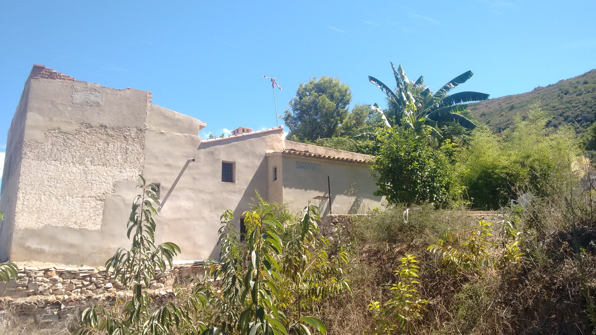 Permaculture community in Spain