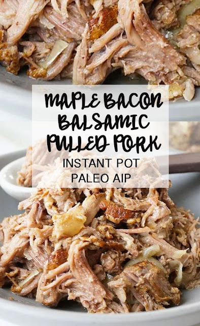 Maple Bacon Balsamic Pulled Pork