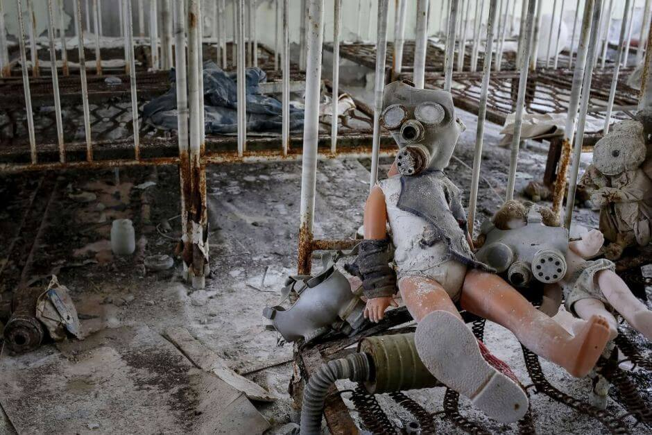 Shocking Images From Chernobyl 32 Years Later