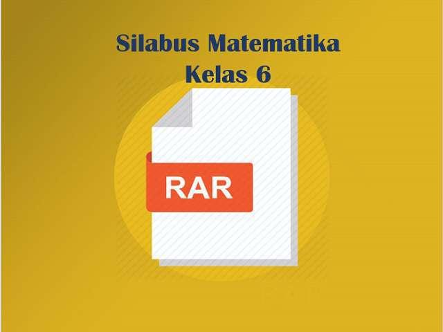 Silabus Matematika Kelas 6