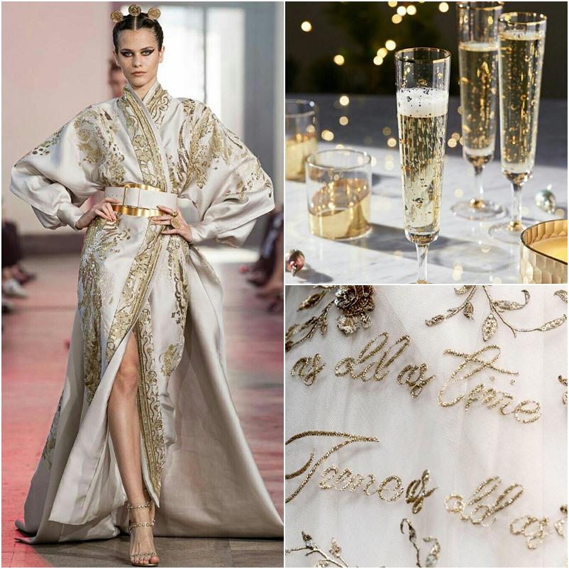 Todo requinte do glamour dourado