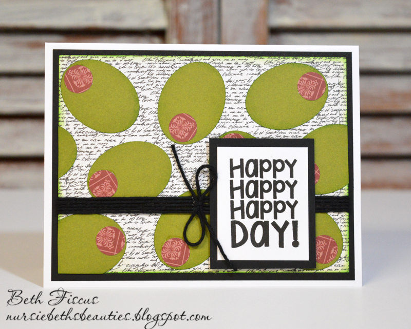 Download Beth's Beauties: Olive Birthday Card