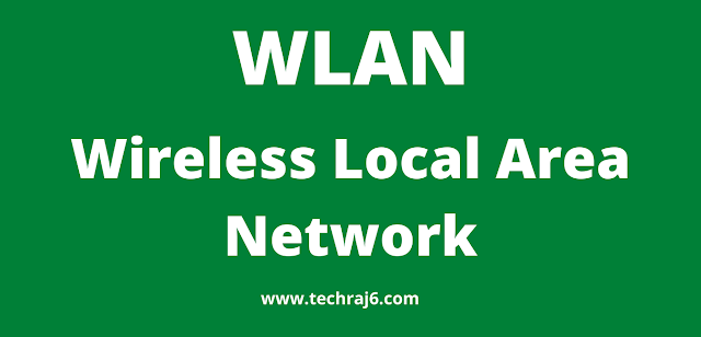 WLAN full form, What is the full form of WLAN