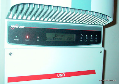 Fixing an ABB/Solar One Aurora Uno inverter with Int. Error E031