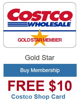 Get a $10 Costco Shop Card.