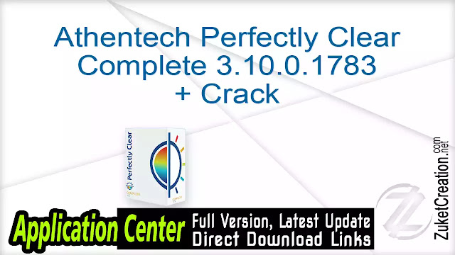 Athentech Perfectly Clear Complete 3.10.0.1783 + Crack