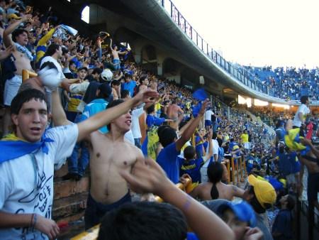 Boca Juniors szurkolók, Maradona argentin csapata