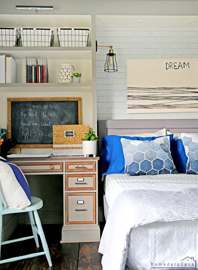 industrial teen boy room decor