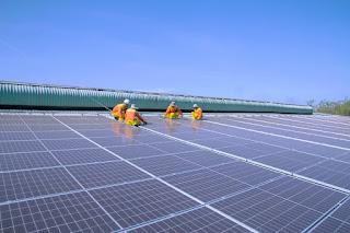 plts, terapung, listrik, surya