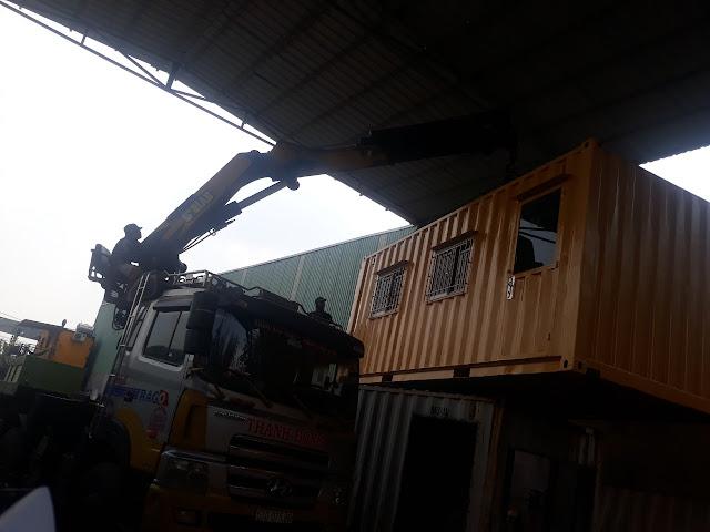 Container 20F tại Bến Lức