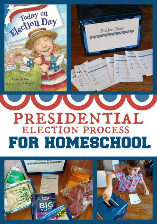 Presidential Election Process for Homeschool with FREE Printable Ballot