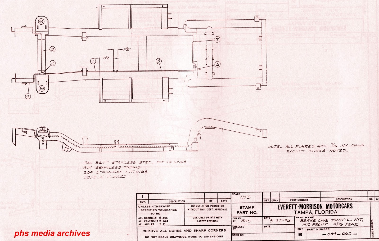 Here is a view of a 26 series chassis, set up for Mustang II front end and  Jag IRS rear.