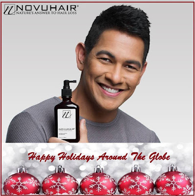 Novuhair Sends Holiday Cheers Around The Globe