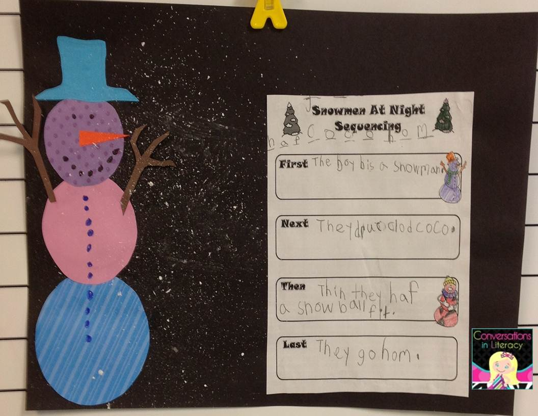 Conversations In Literacy Picture Books Snowmen At Night