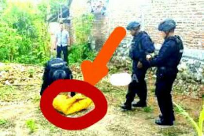 Penemuan Bom Mortir Hebohkan Warga Kediri