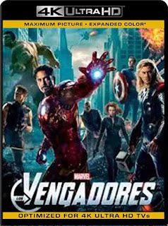 Marvel: Los Vengadores (2012) 4K UHD [HDR] Latino [GoogleDrive] SilvestreHD