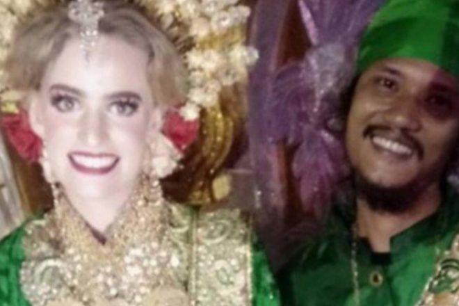 Bule Cantik Asal Jerman Dipersunting Pria Makassar