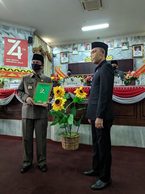 (Pansus) Laporan Keterangan Pertanggungjawaban (LKPJ) Bupati Lampung Utara tahun anggaran 2019