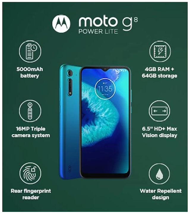 Motorola G8 Power Lite की सेल 2 जुलाई को होगी।