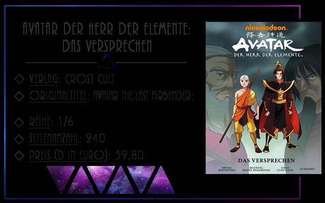 [Rezension] Avatar, der Herr der Elemente: Das Versprechen - Gurihiru & Gene Luen Yang