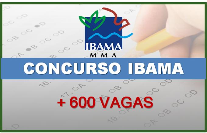 Concurso Ibama: autorização publicada para 568 vagas; 432 de nível médio! Salários até R$ 9 mil
