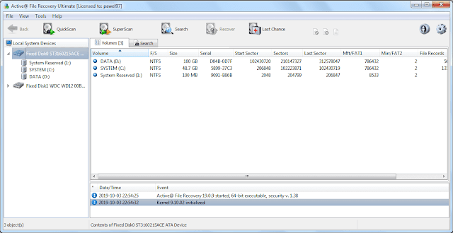 Screenshot Active File Recovery 19.0.9 Full Version