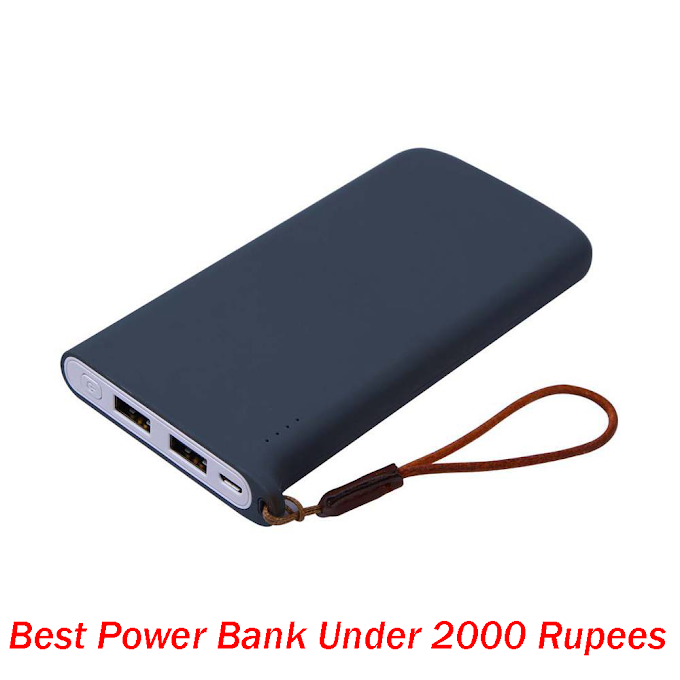 Best Power Bank Under 2000 Rupees in India 2020