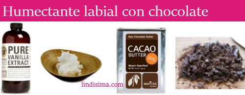 recetas de belleza con chocolate