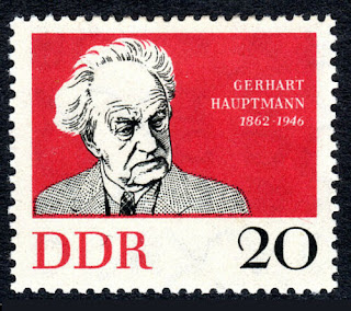 DDR Germany Gerhart Hauptmann