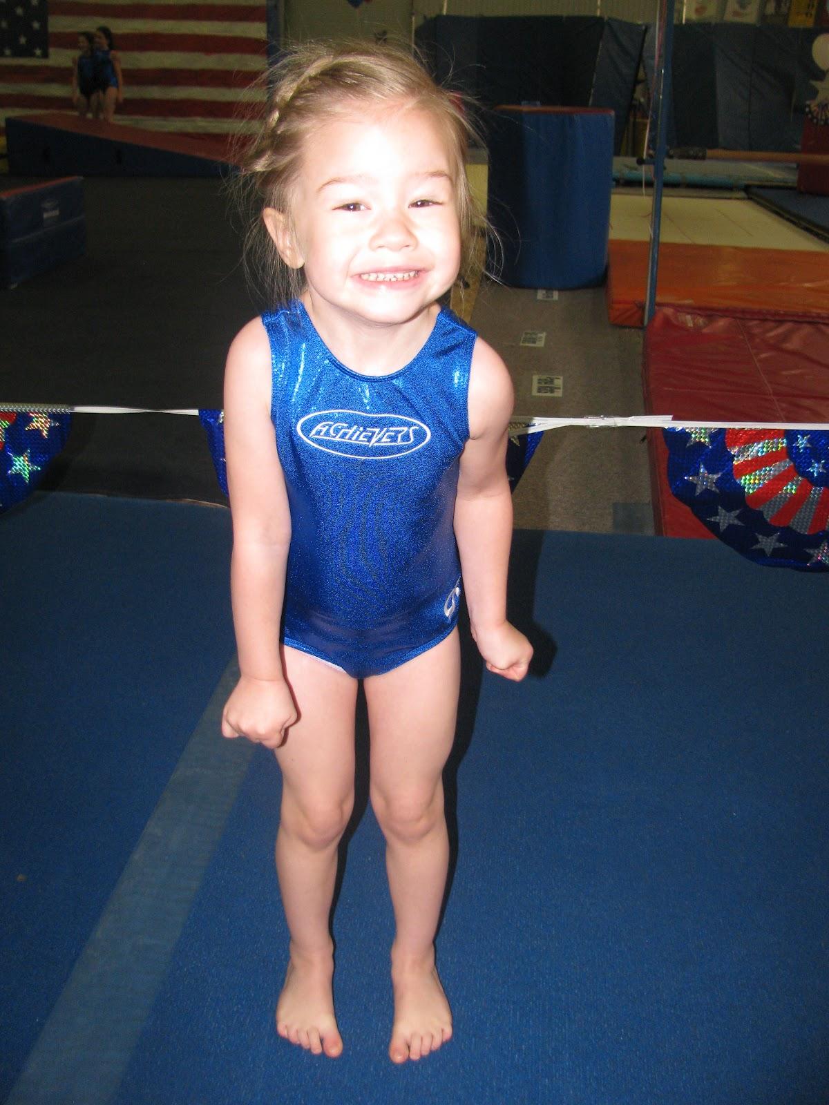 little adorable gymnast leotard