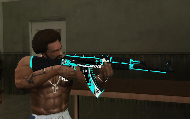 GTA San Andreas AK47 Monarch 2021