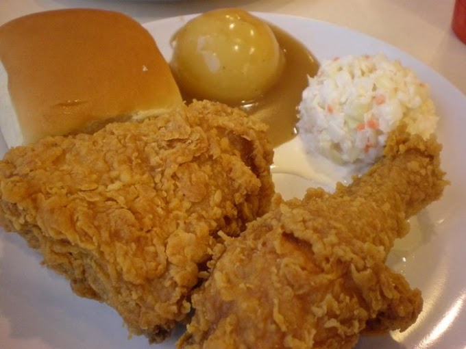 Resipi Ayam Goreng Ala  KFC Guna Tepung Bestari
