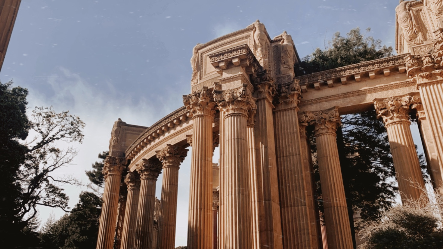 Palace of Fine Arts in San Francisco | biblio-style.com
