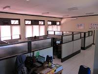 Partisi Sekat Ruang - Furniture Kantor Semarang