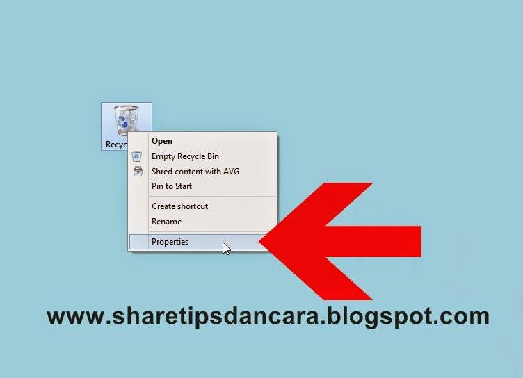 Cara Menghapus File Tanpa Tersimpan Di Recycle Bin  Cara Menghapus File Tanpa Tersimpan Di Recycle Bin