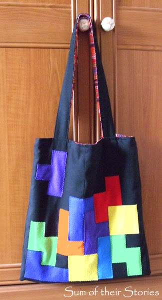 Tetris Tote Bag Tutorial
