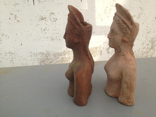 Figurines of Demeter and Persephone found at construction site in Russia's Anapa