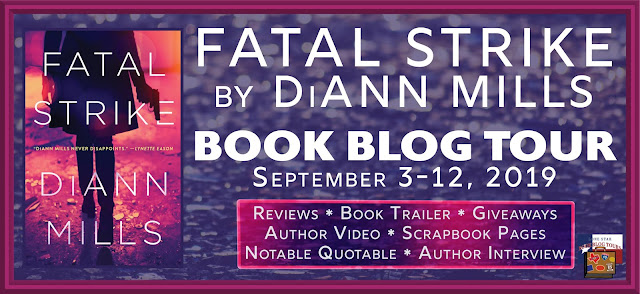 Fatal Strike book blog tour promotion banner