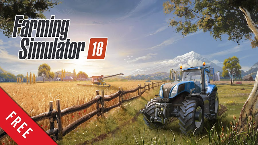 farming simulator 14 and 16 free mobile pc simulation game 2013